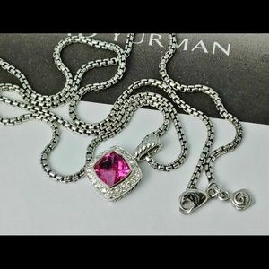 David Yurman Tourmaline Petite Albion Necklace
